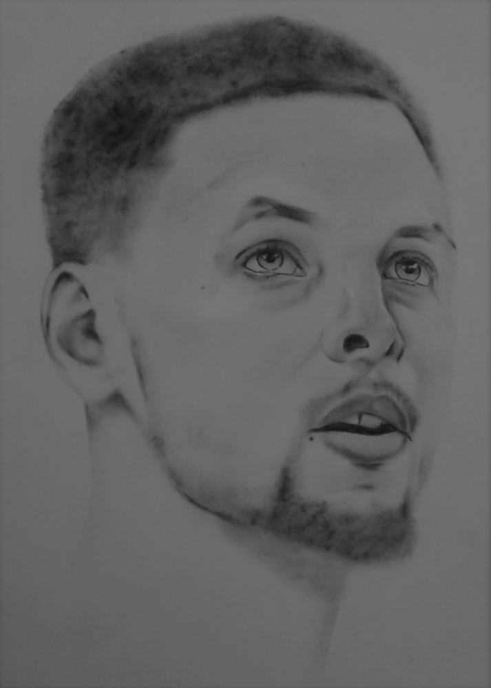 Stephen Curry by tmac1965